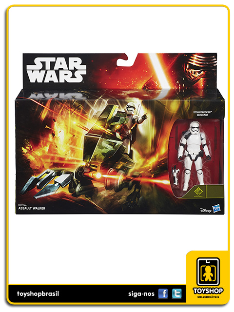 Star Wars The Force Awakens: Assault Walker - Hasbro