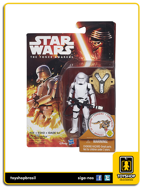 Star Wars The Force Awakens: First Order Flametrooper - Hasbro
