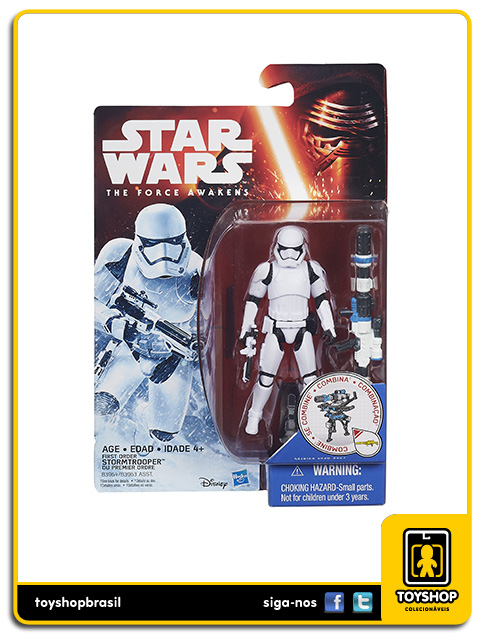 Star Wars The Force Awakens: First Order Stormtrooper - Hasbro