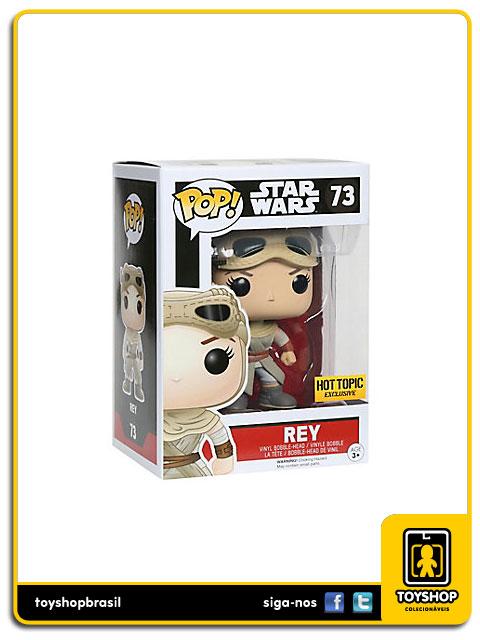 Star Wars The Force Awakens: Rey Hot Topic Exclusive Pop - Funko