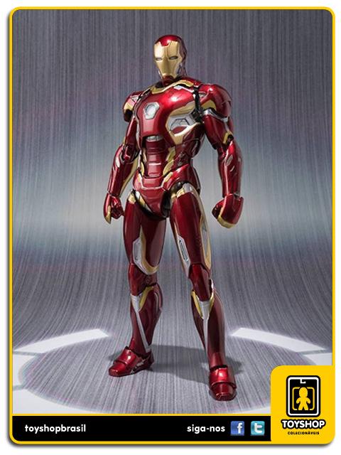 Avengers Age of Ultron S.H. Figuarts: Iron Man Mark XLV - Bandai