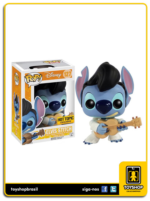 Lilo & Stitch: Elvis Stitch Hot Topic Exclusive  Pop - Funko