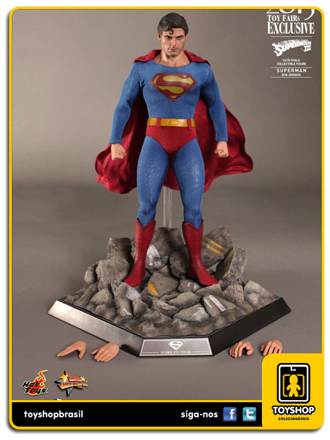 Superman III: Superman Evil Version Exclusive - Hot Toys