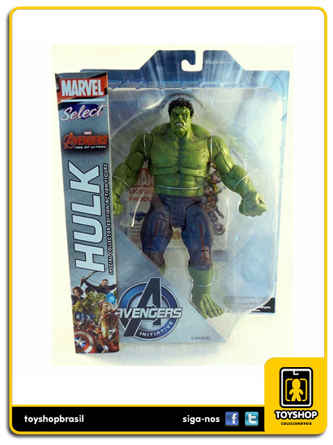 Marvel Select Avengers Age of Ultron: Hulk - Diamond
