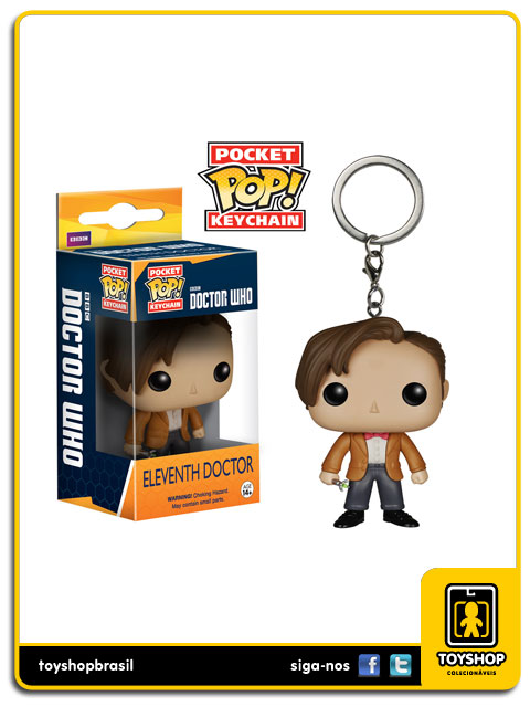 Doctor Who Pocket Pop: Eleventh Doctor Key Chain - Funko