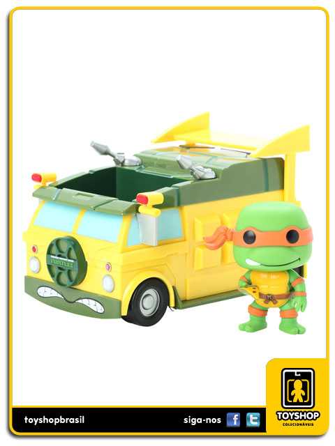 Teenage Mutant Ninja Turtles: Turtle Van Pop - Funko