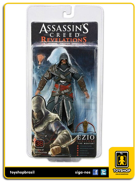 Assassin´s Creed Revelations: Ezio The Mentor - Neca