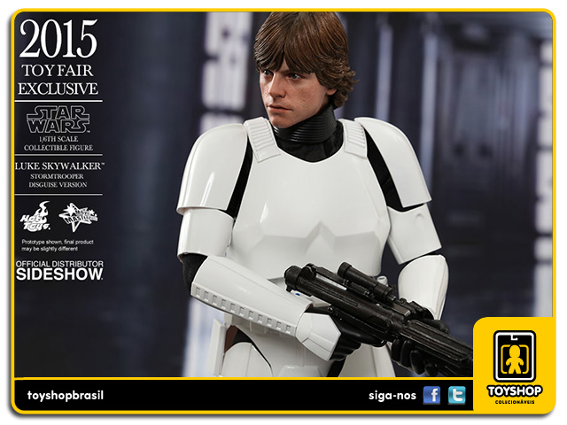 Star Wars: Luke Skywalker Stormtrooper Disguise - Hot Toys