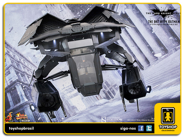 Batman The Dark Knight Rises: The Bat - Hot Toys