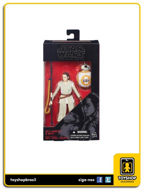 Star Wars The Force Awakens Black Series: Rey Jakku e - Hasbro