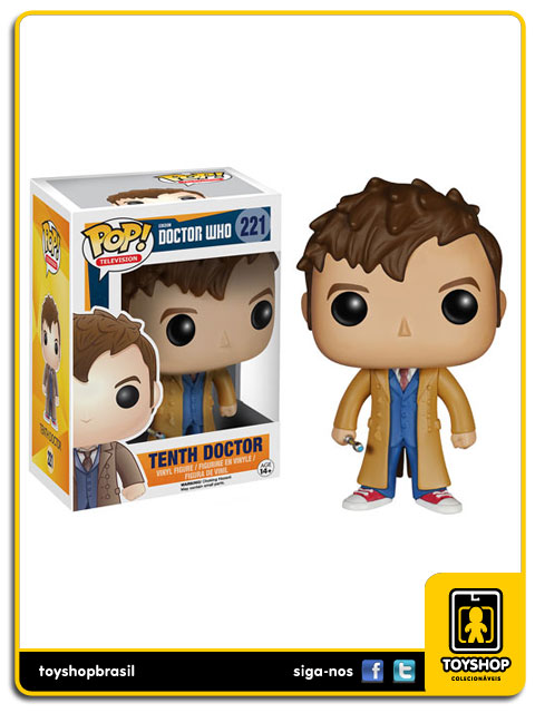 Doctor Who: Tenth  Doctor   Pop - Funko