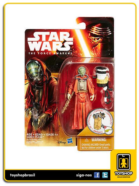 Star Wars The Force Awakens: Sarco Plank - Hasbro