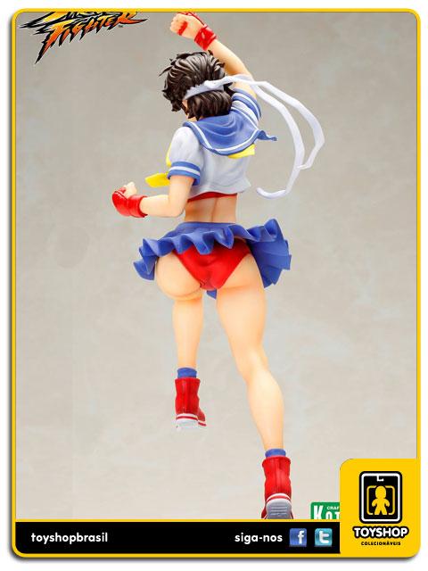 Street Fighter Bishoujo: Sakura - Kotobukiya