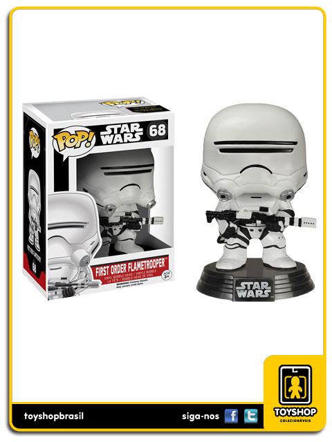 Star Wars The Force Awakens: First Order Flametrooper Pop - Funko