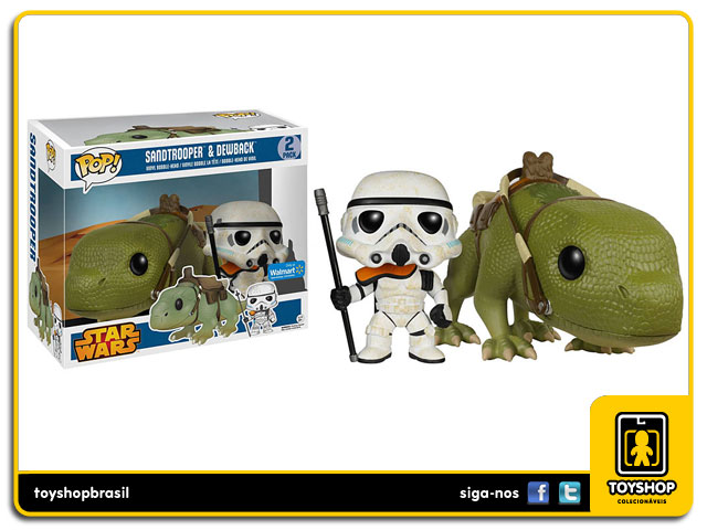 Star Wars: Sandtrooper & Dewback  Pop - Funko