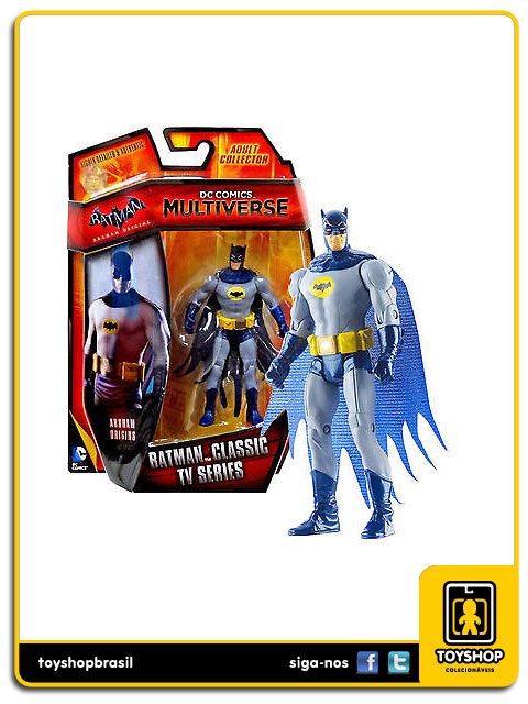 DC Comics Multiverse Arkham Origins: Batman Classic Tv Series - Mattel