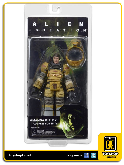 Alien Isolation: Amanda Ripley Compression Suit - Neca