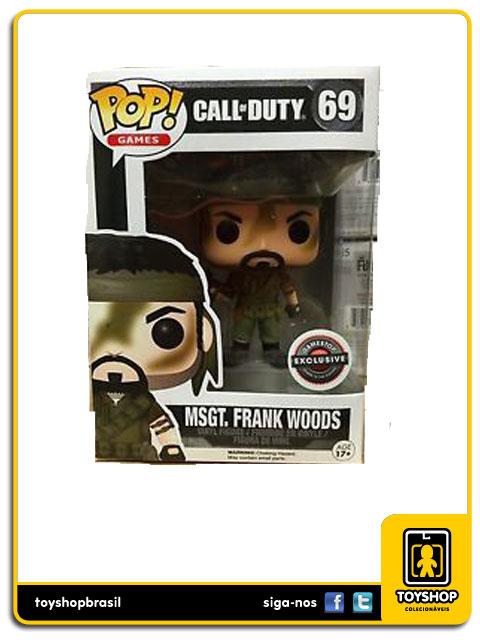 Call of Duty: Msgt. Frank Woods GameStop Exclusive  Pop - Funko