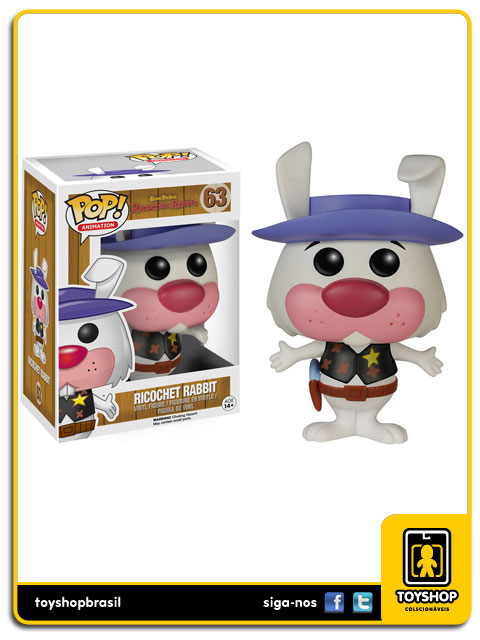 Hanna Barbera: Ricochet Rabbit Pop - Funko