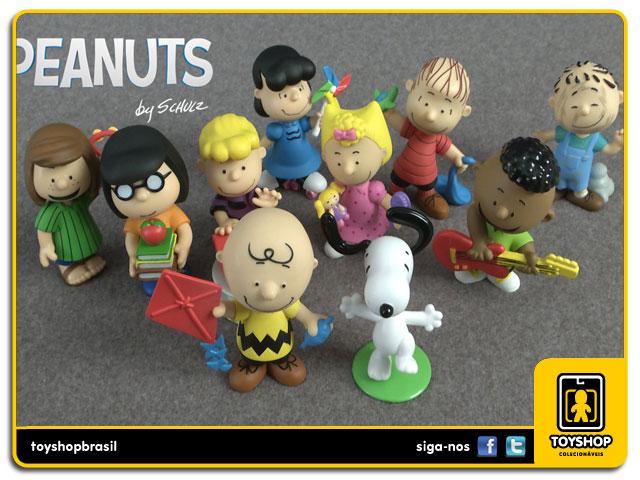 Peanuts: Box Set 10 Figuras - Just Play