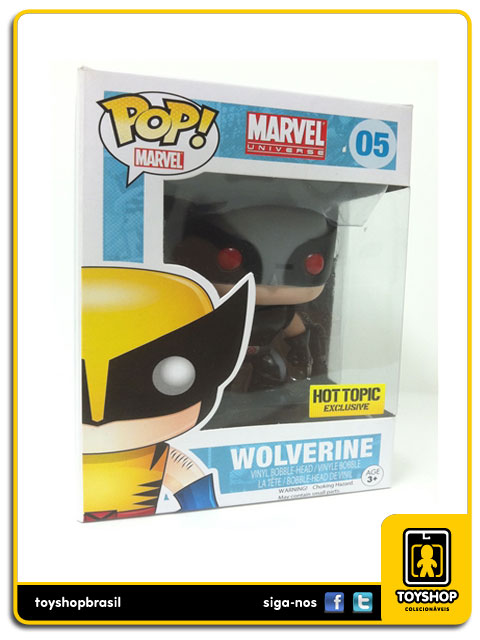 Marvel: Wolverine Hot Topic Exclusive  Pop - Funko