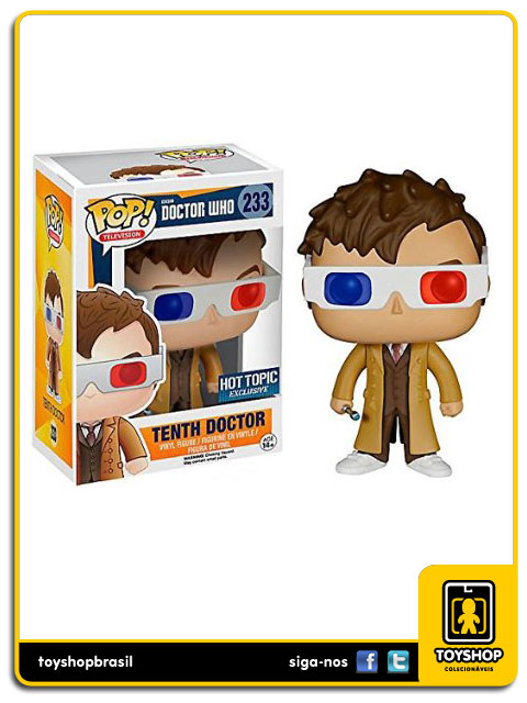 Doctor Who: Tenth  Doctor Hot Topic Exclusive   Pop - Funko