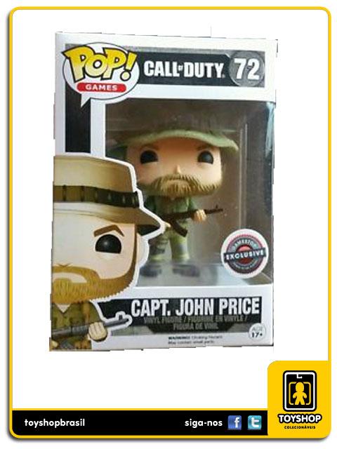 Call of Duty: Capt. John Price GameStop Exclusive  Pop - Funko
