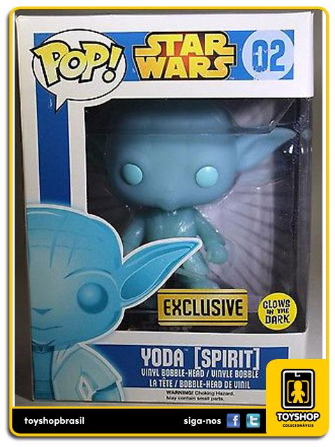 Star Wars: Yoda Spirit  Exclusive  Pop - Funko