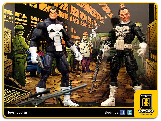 Marvel Legends Face-Off: Punisher vs Jigsaw - Toy Biz