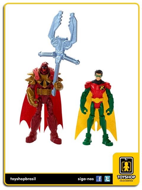 Batman Unlimited Gotham City Bane Battle: Box Set 7 figuras - Mattel