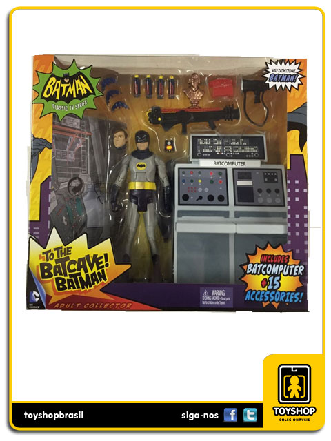 Batman Classic TV Series: Box Batcave - Mattel