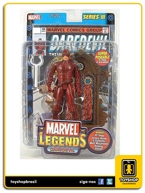 Marvel Legends Series III: Daredevil - Toy Biz