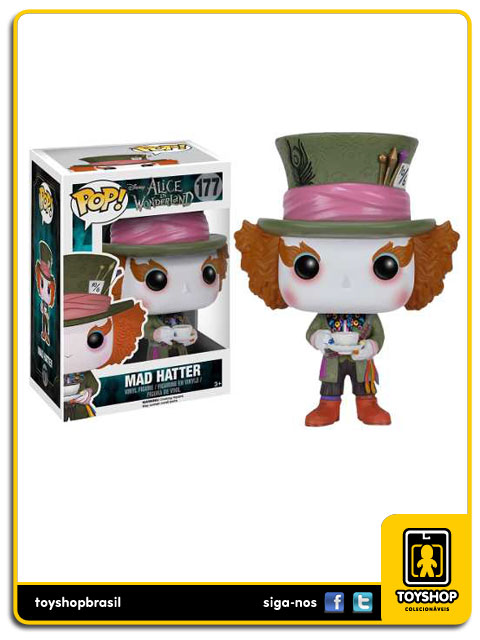 Alice in Wonderland: Mad  Hatter Pop - Funko