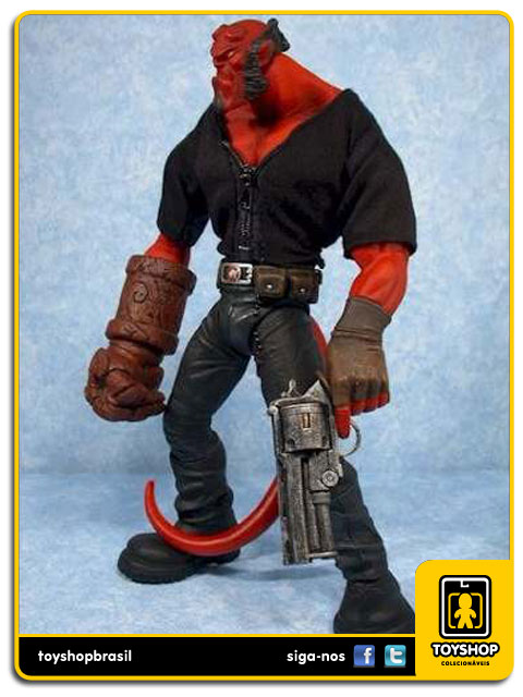 Hellboy: Hellboy Exclusivo - Mezco
