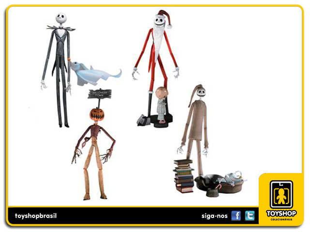 Nightmare Before Christmas: Jack of All Trades Boxed Set - Neca
