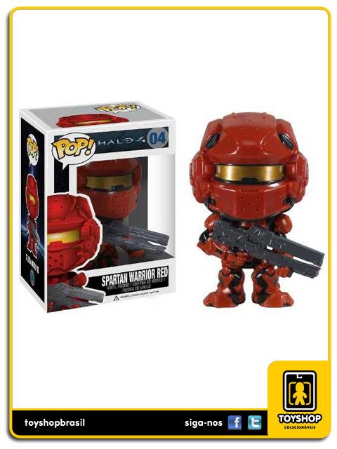 Halo 4: Spartan Warrior Red  Pop - Funko