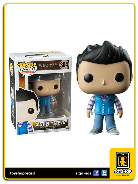 Supernatural Castiel Steve Hot Topic 304  Pop  Funko