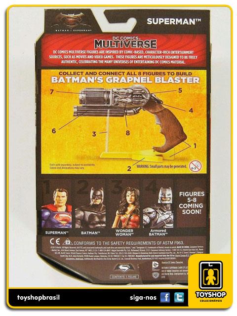 Dc Comics Multiverse Batman v Superman:  Superman - Mattel