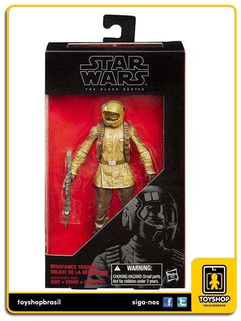 Star Wars The Force Awakens Black Series: Resistance Trooper - Hasbro