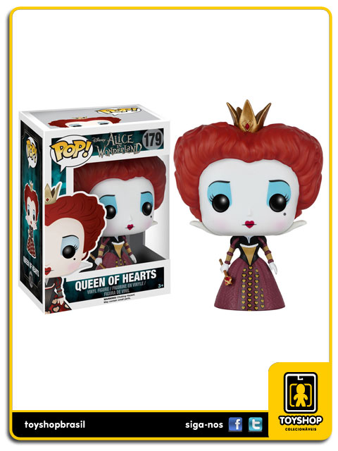 Alice in Wonderland: Queen of Hearts Pop - Funko