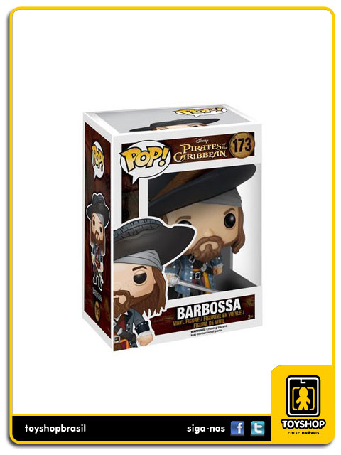 Pirates of the Caribbean: Barbossa Pop - Funko