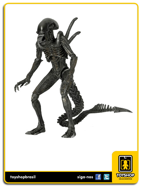 AVP Alien Vs  Predator Warrior Alien  Neca