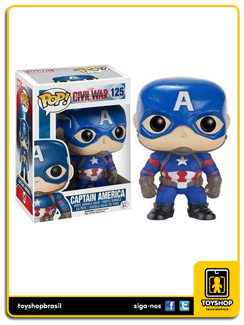 Captain America Civil War: Captain America Pop - Funko