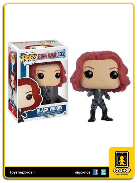 Captain America Civil War: Black Widow Pop - Funko