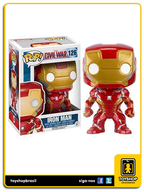 Captain America Civil War: Iron Man Pop - Funko