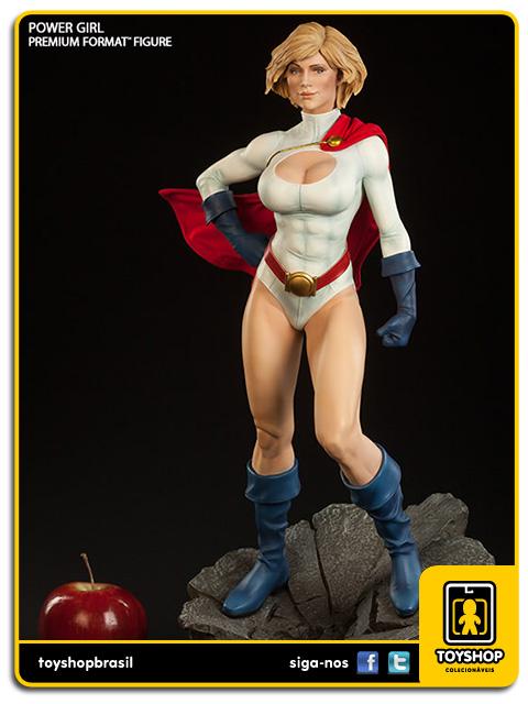 Dc Comics Premium Format: Estátua Power Girl - Sideshow Collectibles