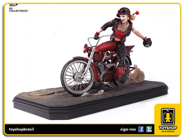 Gotham City Garage: Estátua Harley Quinn - DC Collectibles