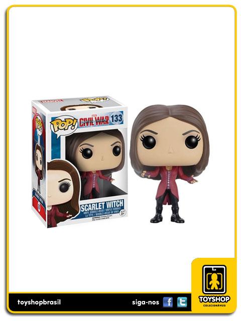 Captain America Civil War: Scarlet Witch  Pop - Funko
