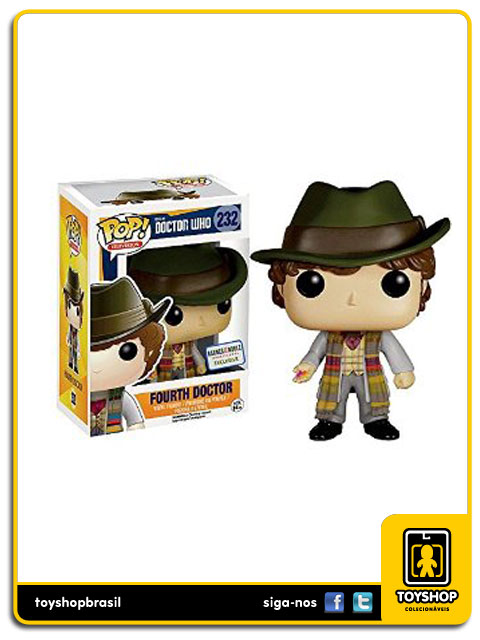 Doctor Who: Fourth Doctor Exclusive  Pop - Funko
