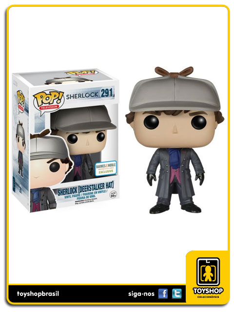 Sherlock: Sherlock Deerstalker Hat  Exclusive Pop - Funko